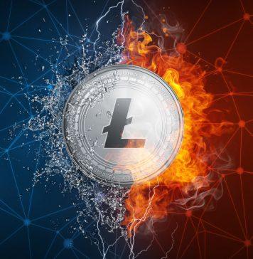 Litecoin Climbing Crypto Ladder